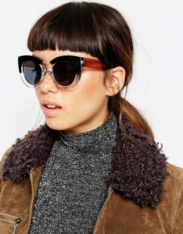 These chunky frames will run you $19.41 at Asos.