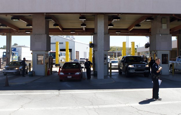 Customs and Border Protection officers said in a statement this week that they arrested a 23-year-old Arizona woman who attempted to smuggle a pound of meth hidden inside a burrito at a Nogales entry port.