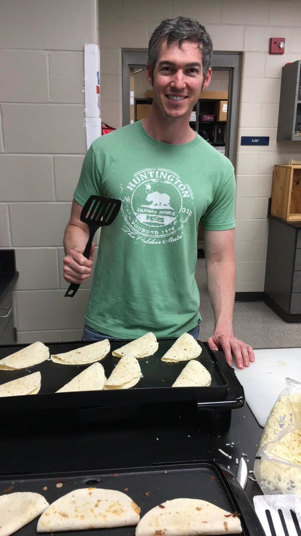 "Meet Andrew Ward, aka ""Señor Ward,"" a Spanish teacher at Turner High School in Kansas City, Kansas."