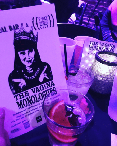 Seeing The Vagina Monologues performed.