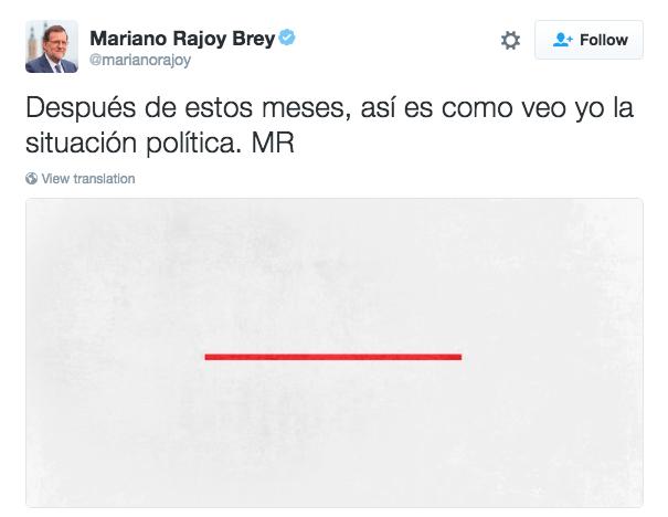 Con la campaña electoral para las próximas elecciones recién empezada, varios líderes del PP han empezado el lunes con un tuit bastante enigmático.