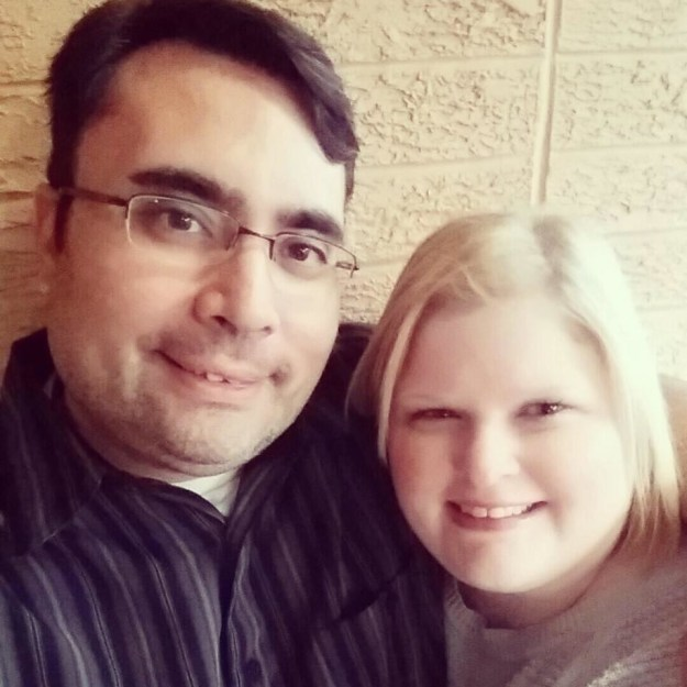 This is Shane Birkinbine and Pam Edwards, a couple in Bentonville, Arkansas.