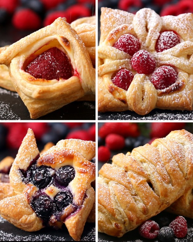 Puff Pastry Four Ways
