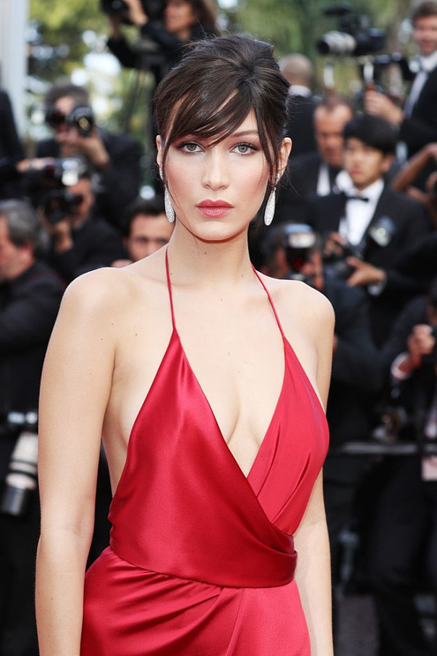In case you don't spend your time obsessing over future supermodels, this is Bella Hadid.