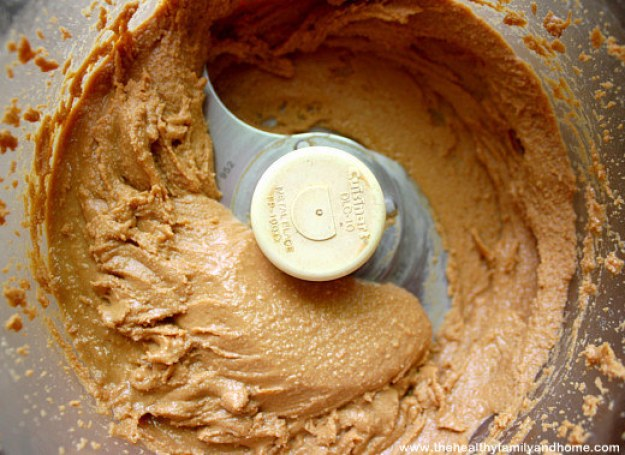 Swap sugary peanut butter for the natural, sugar-free kind.