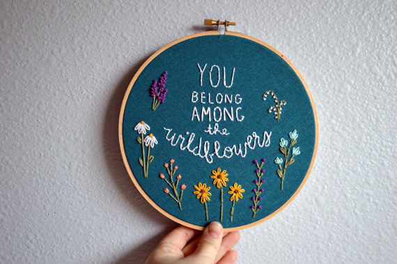 This adorable embroidery.