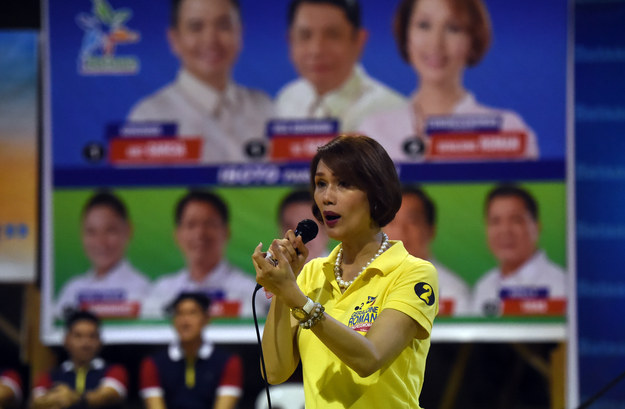 "As she campaigned, Roman positioned her election to the Philippine congress as ""a statement that even transgender people can serve our country and should not be discriminated against."""