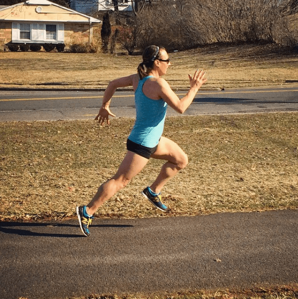 "In fact, the ""stubbornness"" that gets her through marathon training is what has helped her deal with the challenges of intolerance and transphobia."