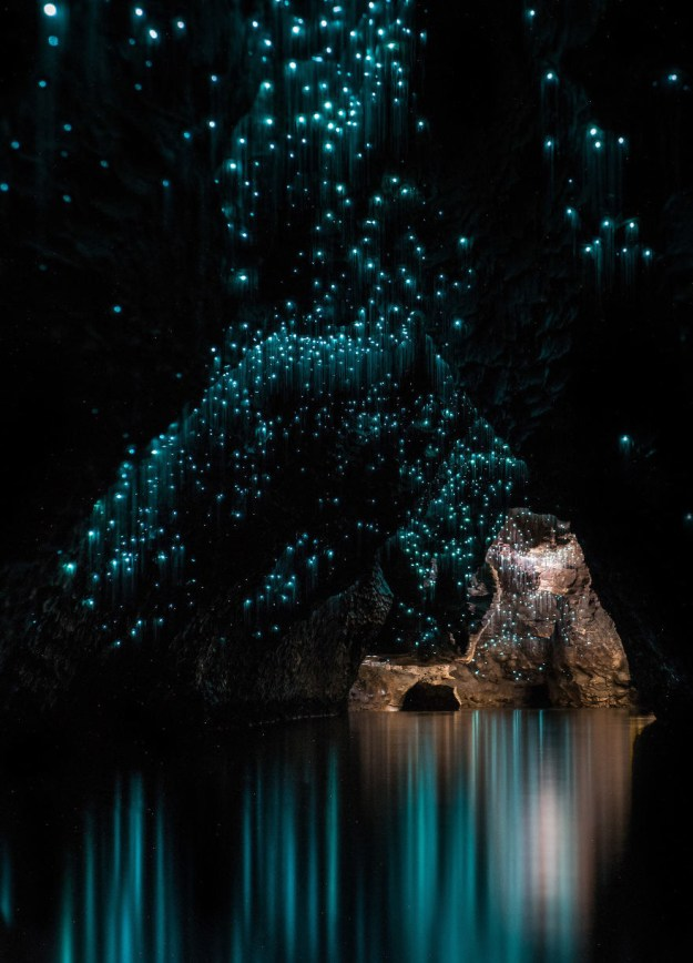 Well, New Zealand must be where their diety resides. In Waitomo's Ruakuri caves alone, a colony of woodsprite-like glow worms make the underground look celestial.
