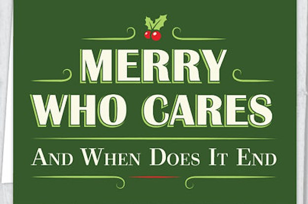 17 Holiday Cards For Anyone Fluent In Sarcasm