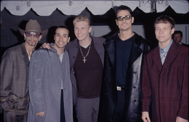 The Backstreet Boys in 1995.