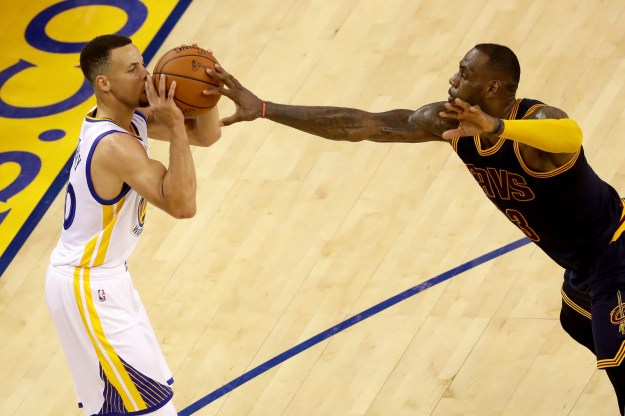 Despite the Cavaliers' loss, they managed to hold the Warriors' Steph Curry and Klay Thompson to 11 and 9 points, respectively.