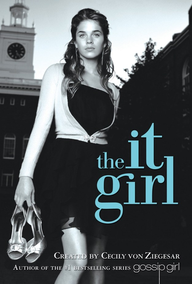 Yep, Hicks was the cover model for the first book in the Gossip Girl spin-off series, The It Girl.