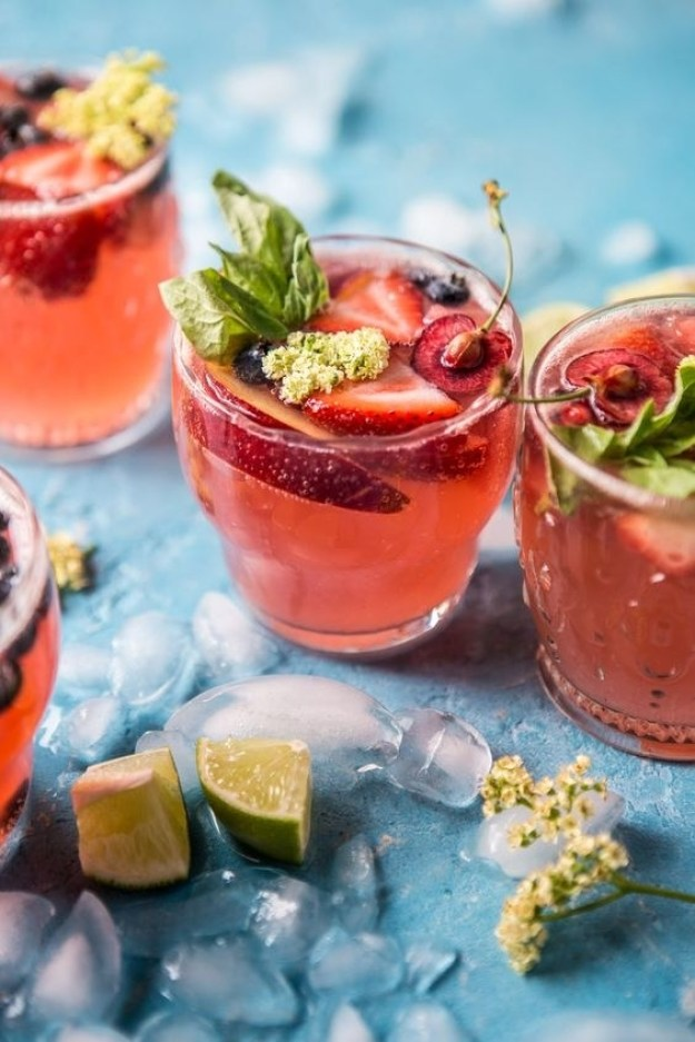 Summertime Rosé Tequila Sangria