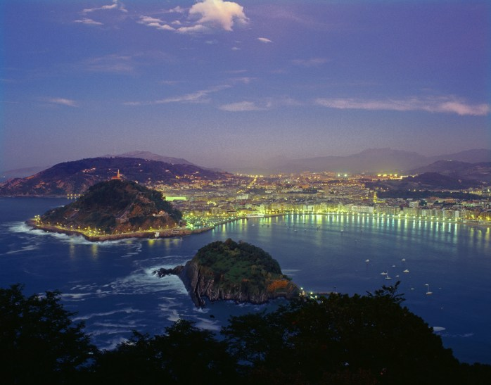 San Sebastian over in Spain doesn't seem too shabby.