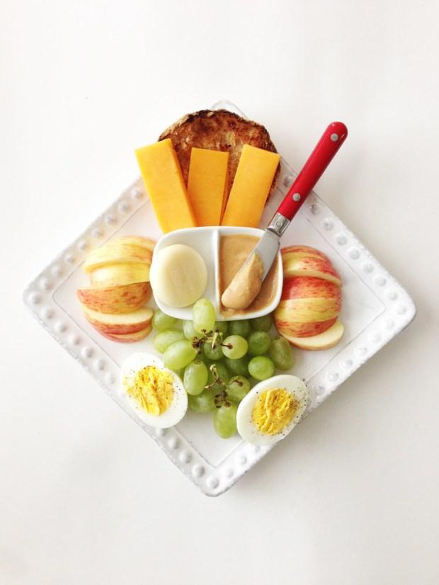 Make your own bistro box aka adult Lunchable.