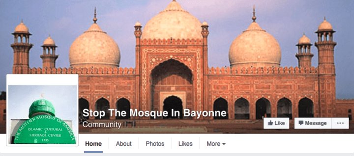 The fight in Bayonne has also been raging online. Two Facebook groups opposing the mosque sprang up days after the building proposal was announced last year.