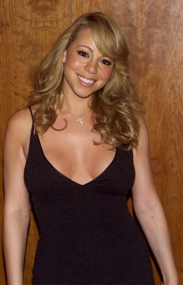 Mariah Carey then: