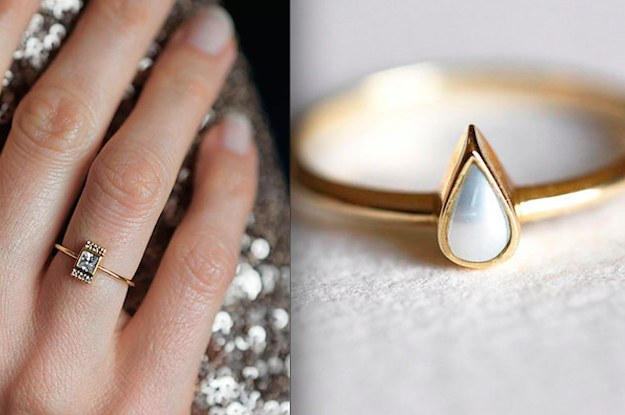 32 Impossibly Delicate Engagement Rings That Are Utter