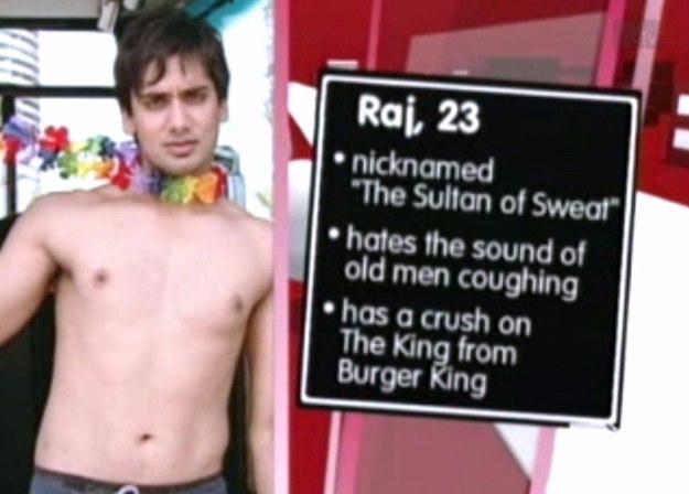 Raj's nickname: