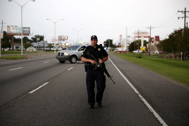 Three police officers were fatally shot in Baton Rouge by at least one person.