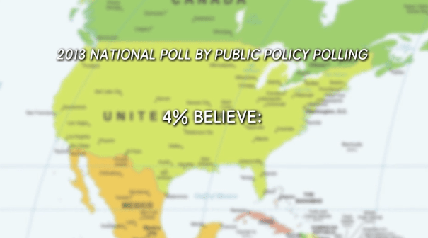 """And he's not alone in his thinking — a national 2013 poll revealed that 4% of voters polled believe that """"lizard people"""" control our societies."""