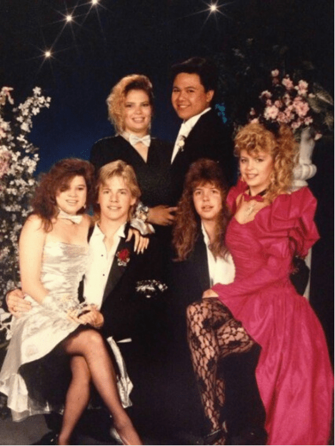 Proms were epic too — but RIP to all of the hair spray.