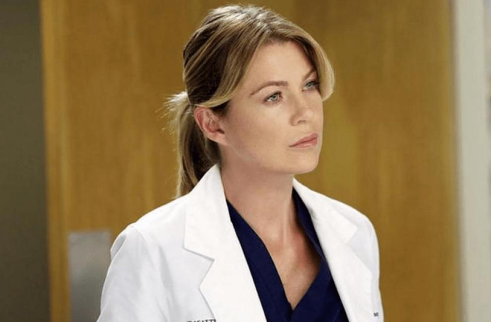 Meredith Grey, from Grey's Anatomy