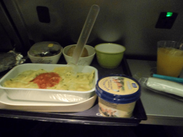 But what if I told you all plane food isn't terrible unidentifiable mush?