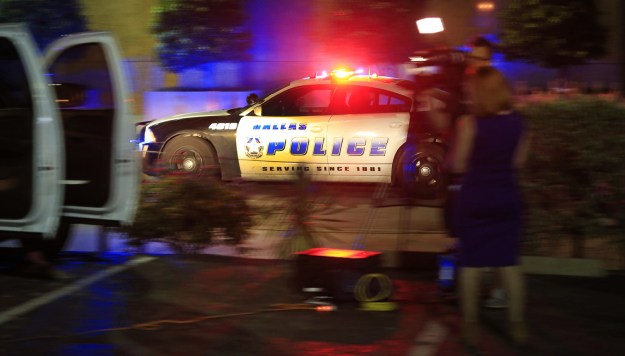 Five police officers were killed and another seven were wounded when snipers opened fire during a protest in Dallas on Thursday night.
