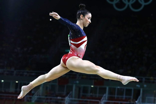 If you've been watching the Rio Olympics, then you've probably seen Aly Raisman tearing it up in gymnastics.