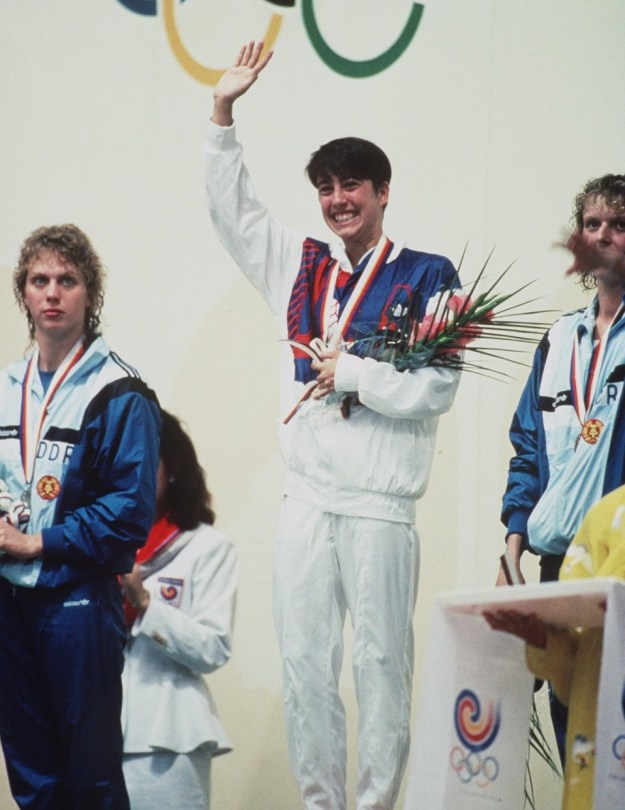 Seoul 1988 Games. Athleisure look by Adidas.