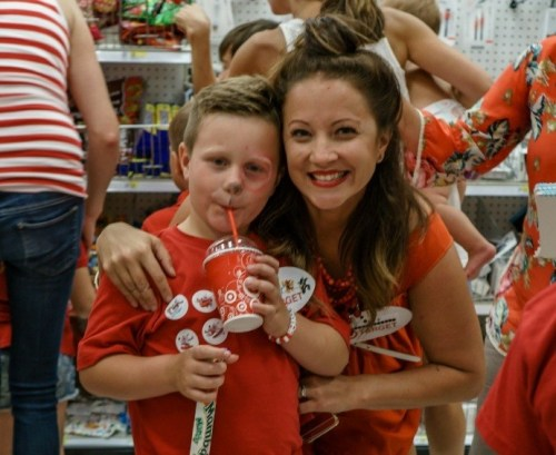 Kara Cook and her son, Parker, are both huge fans of Target. So, as Parker's seventh birthday drew near, they came up with a crazy idea: What if they threw him a Target-themed birthday party at their local Target?