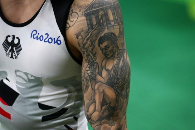 ¿Acaso es la antorcha olímpica lo que vemos ahí?