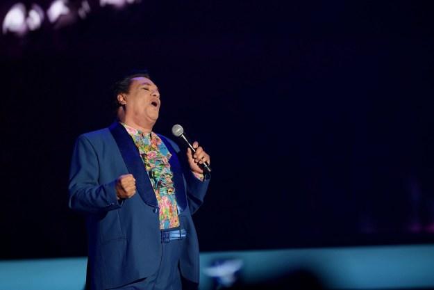 Mexican singer-songwriter Juan Gabriel died on Sunday of a heart attack, journalist Joaquín López-Dóriga said.