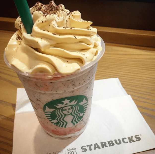 Baked Cheesecake Frappuccino (Japan)