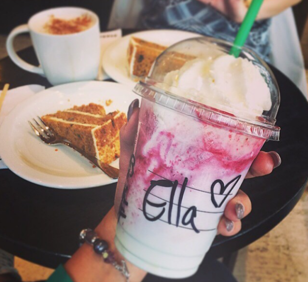 Yogurt Frappuccino (Greece)