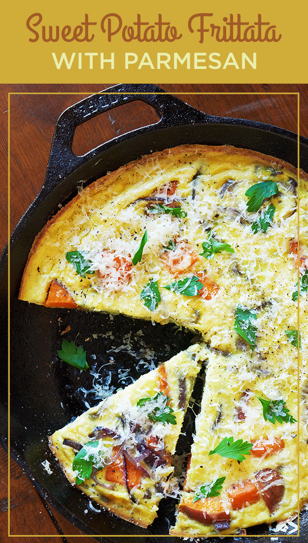 Cook a frittata over the weekend, then reheat leftovers all week.