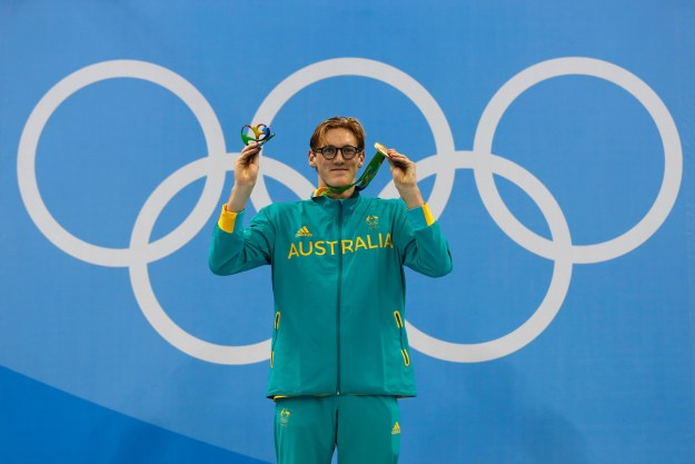 However, the 20-year-old swimmer's win came after some juicy DRAMA in the pool.