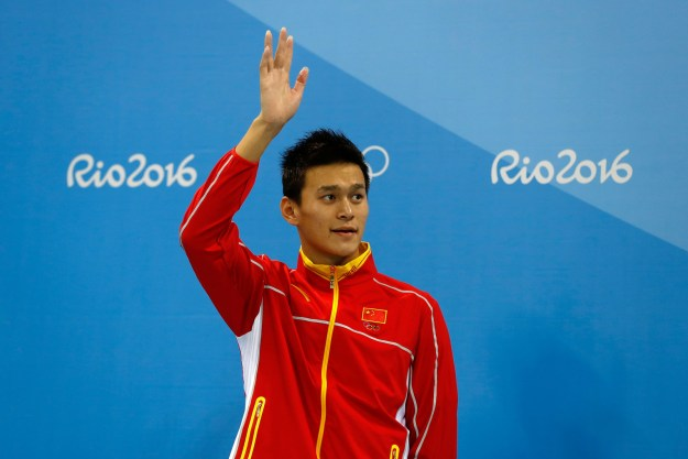 In 2014, Sun was handed a three-month suspension from swimming after testing positive to a banned substance.