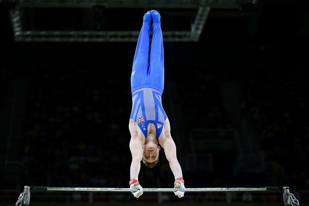 Like everything else in your life, the gymnastics onesies were just a tiny glimmer of hope that would eventually dissolve into a bleak reality (that it's just freakin' stirrup pants).