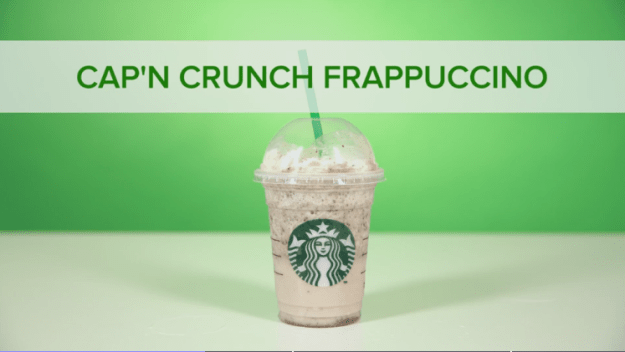 Cap'n Crunch Frappuccino