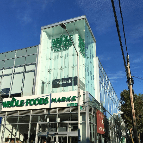 So. Whole Foods opened up a shiny new store in a shiny new complex in Williamsburg, Brooklyn.