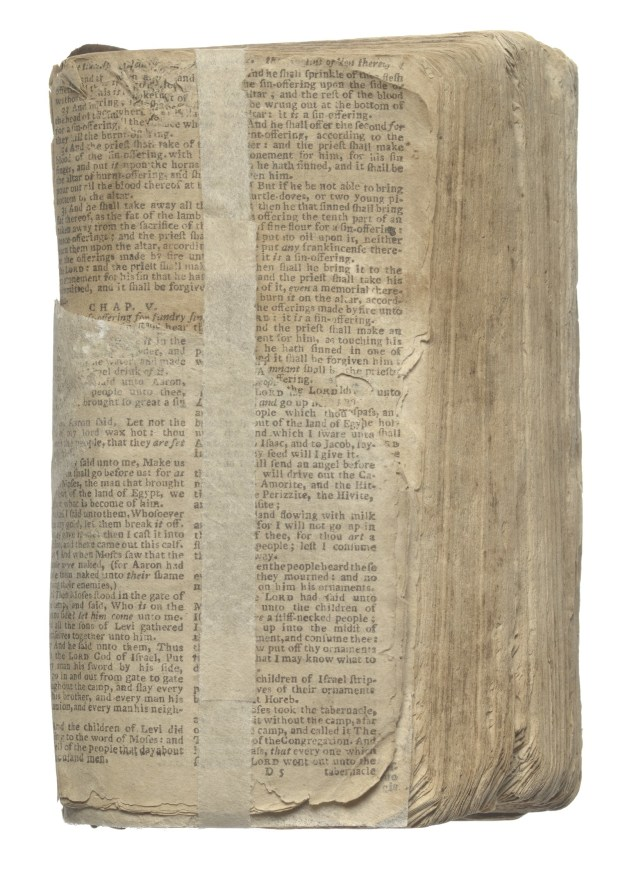 A bible owned by Nat Turner.