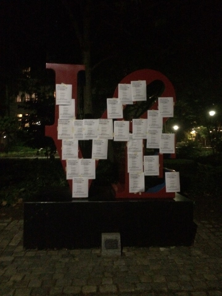 "Silberling and her friends distributed approximately 600 flyers of the email with the phrase ""this is what rape culture looks like"" printed over it, across the Philadelphia campus Monday night. On Tuesday, the students plastered more flyers on campus, including on the school's iconic 'LOVE' sign."