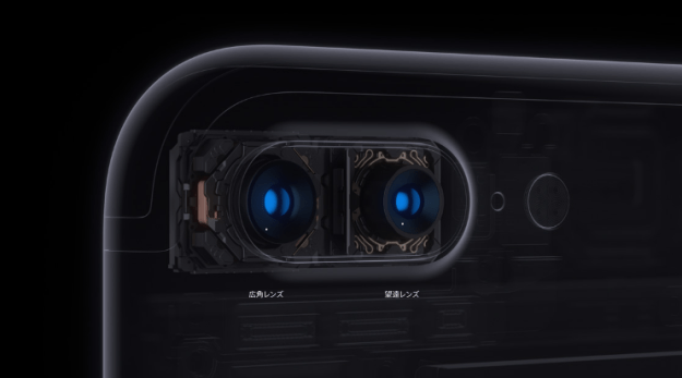 カメラの性能選ぶならPlusを。レンズが2つあるから。