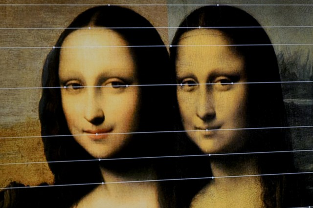 A lot of folks passionately insist that the Mona Lisa has changed, because they remember her having a straight face, but now they feel it seems as if she's got a smirk.