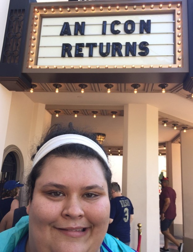 This is 22-year-old Christine Sydelko from Los Angeles. She's become a pretty well-known personality on Vine. Over the weekend, she decided to go to Disneyland for some low-key, wholesome fun.