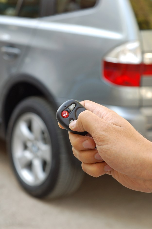 Sanitize the remote key fob for your car, and the other keys on your keychain.