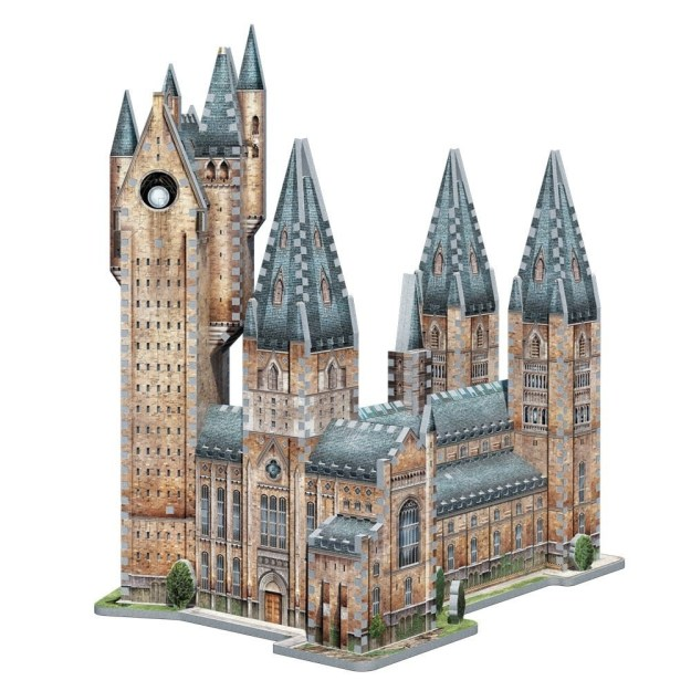 The Hogwarts Astronomy Tower 3D Jigsaw Puzzle won't let you attend Hogwarts, but you can still construct your own version of it!
